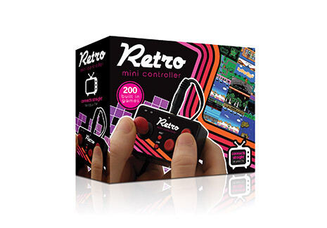 Mini manette de jeu vidéo retro avec 200 jeux ♥️