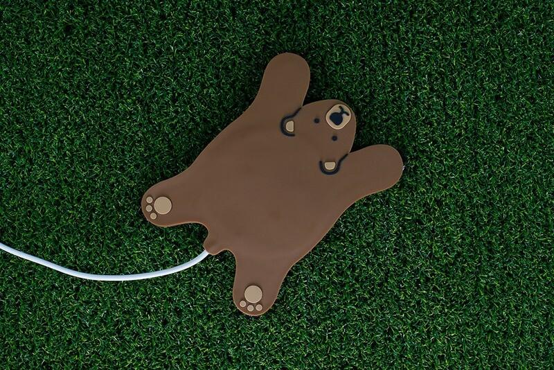 Chauffe tasse usb en forme d'ours