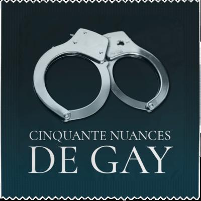 Préservatif Cinquante nuances de Gay