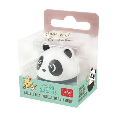 Baume à lèvres à la vanille en forme de panda