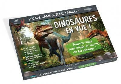 Jeu - Escape Game spécial famille : Dinosaures en vue