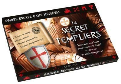 Jeu - Escape game - Le Secret des Templiers