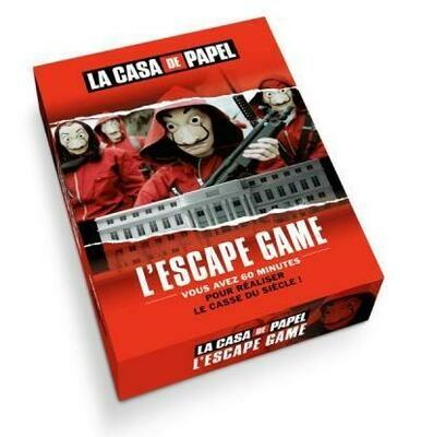La casa de papel : l'escape game inédit