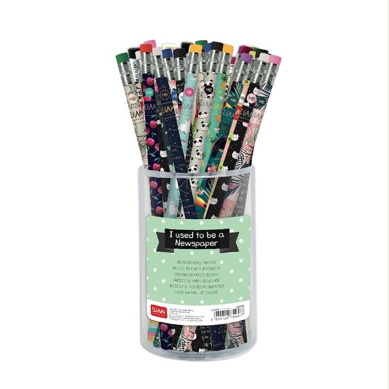 Crayon gomme en papier recyclé