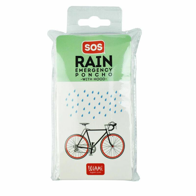 Poncho pliable pour la pluie