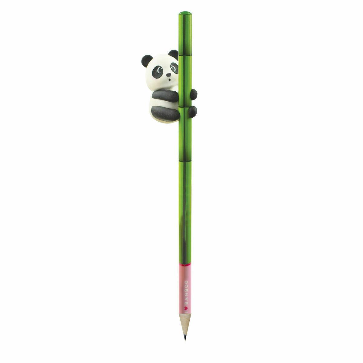 Crayon avec gomme Panda