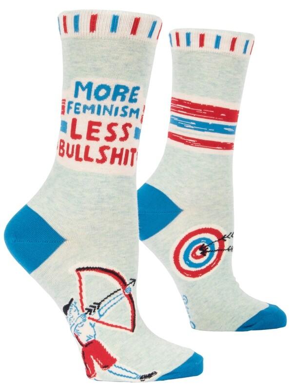 Chaussettes femme More feminism less bullshit