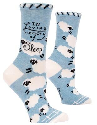 Chaussettes femmes Loving Memory Of Sleep