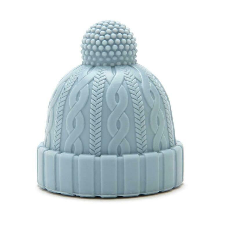 Bouchon en forme de bonnet bleu