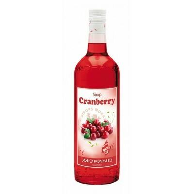 Sirop Morand Cranberry 1L