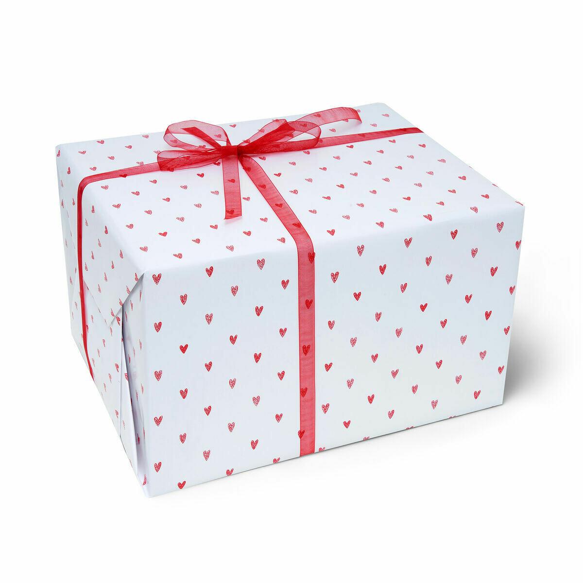 Rouleau de papier cadeau cœur ♥️