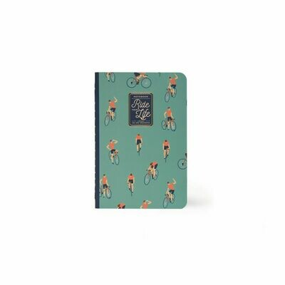 Cahier Ride your life A6 - cycliste