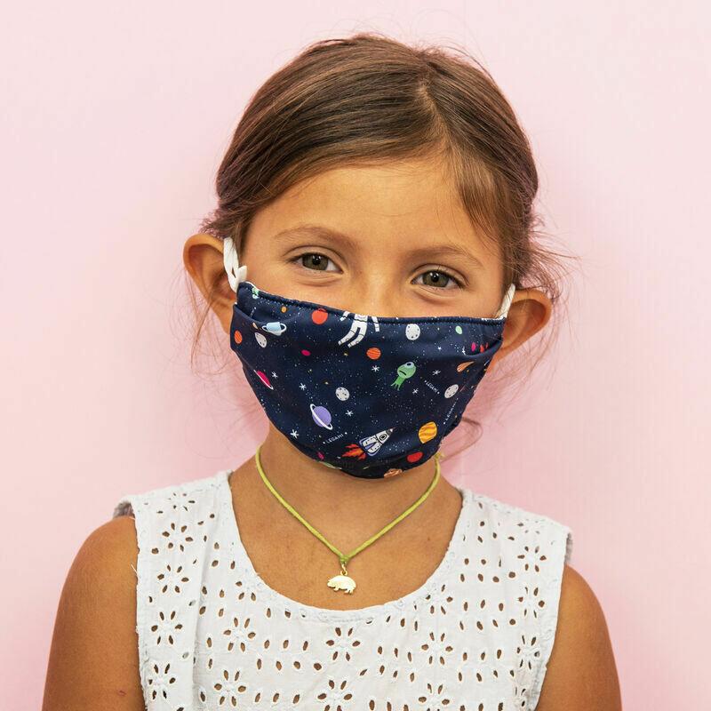 Masque pour enfants - Espace