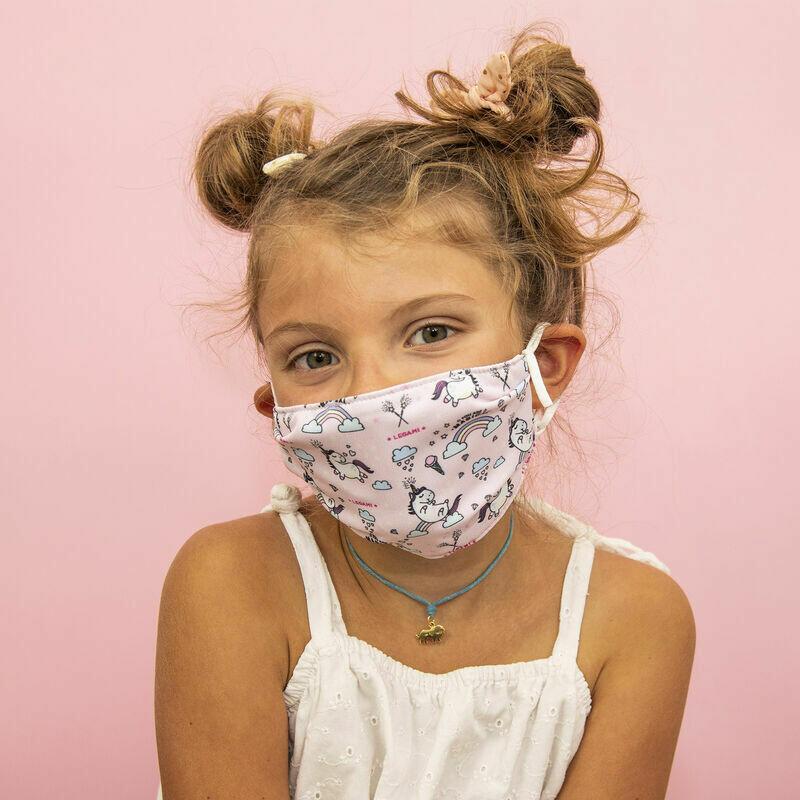 Masque pour enfants - Licorne