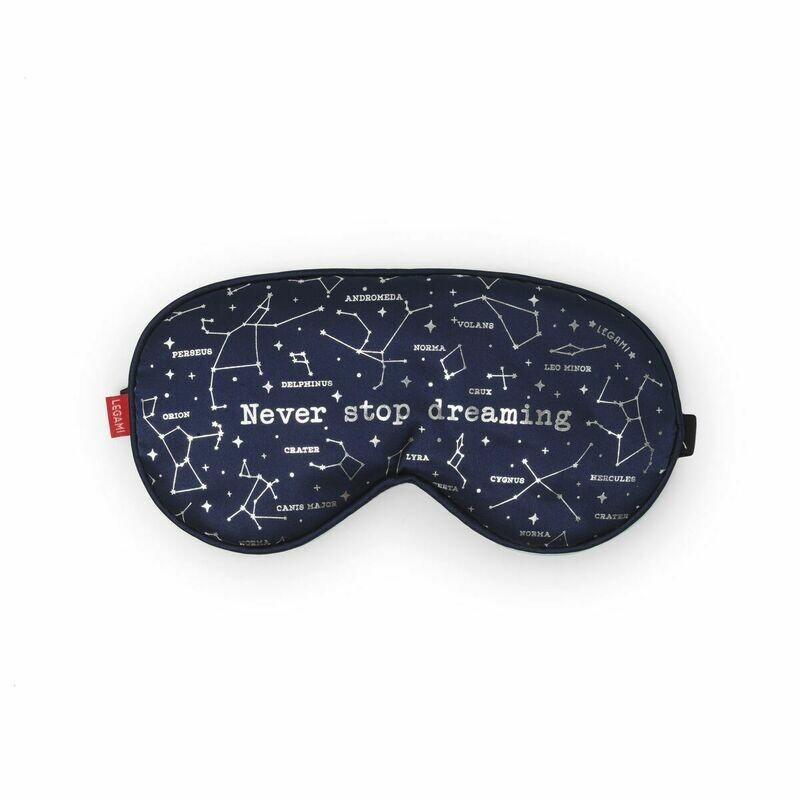 Le masque pour dormir en tissus - Etoiles - Never stop dreaming