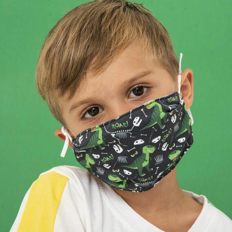 Masque pour enfants - Dino