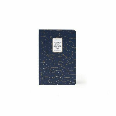Cahier Constellation A6 - Never stop looking up