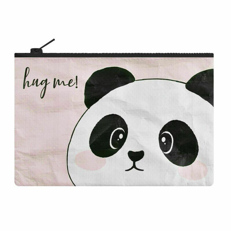 Pochette zippée - Panda