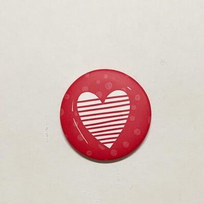 Magnet coeur 3cm x 3 cm