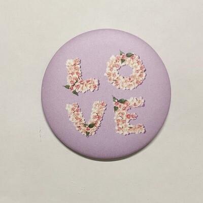 Magnet Love 6,5 cm x 6.5 cm