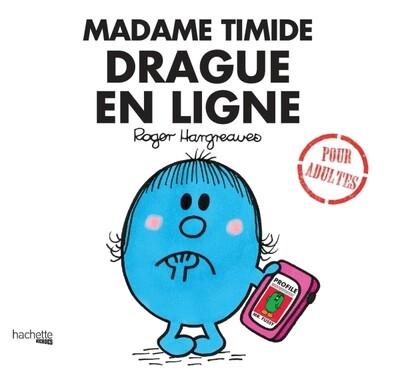 Livre Humour  - Madame Timide drague en ligne ♥️
