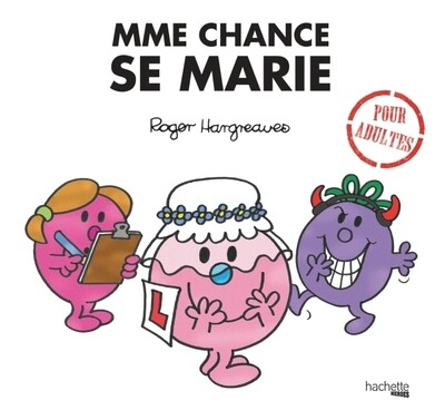 Livre Humour  - Madame Chance se marie ♥️