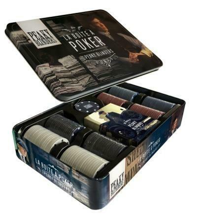 Jeu de Poker - la boîte de Peaky Blinders