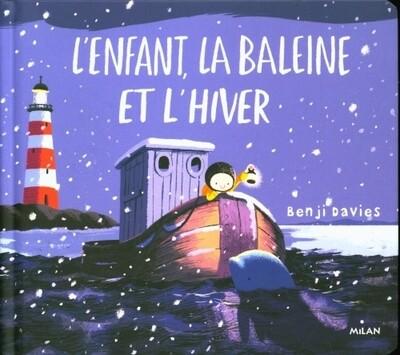 Livre enfant - L'enfant, la baleine et l'hiver ♥️