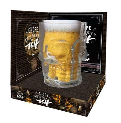 Coffret - La chope des morts de soif + recettes de cocktails à bas de bière
