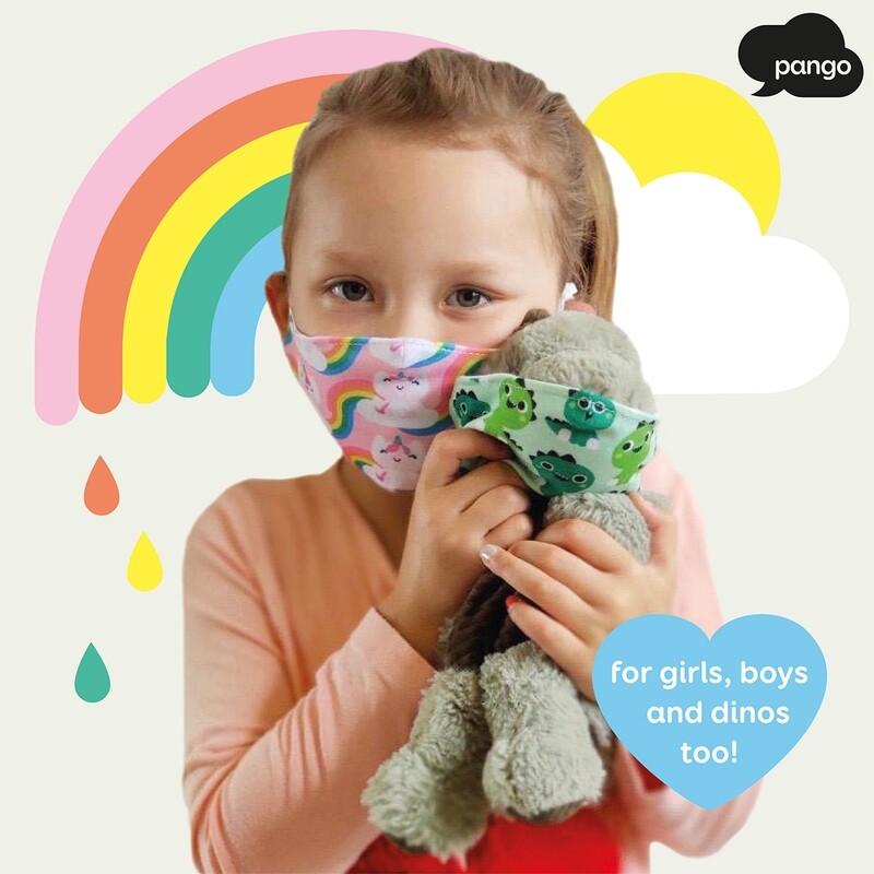Masques enfant licorne 4à 10 ans