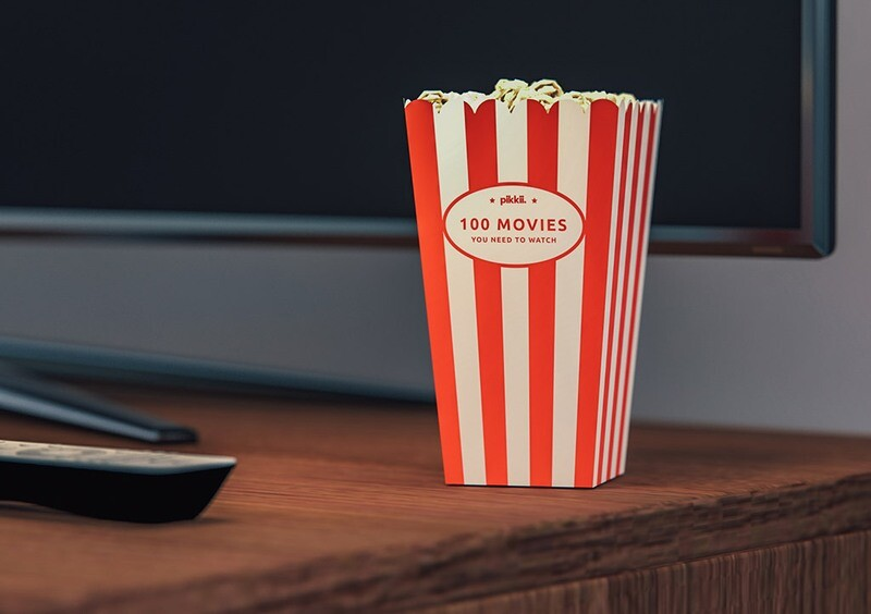 Décideur - 100 movies you need to watch - pop corn - en anglais