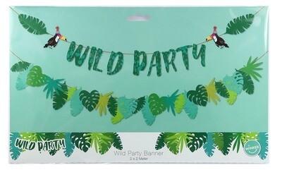 Guirlande anniversaire - Happy Birthday wild party