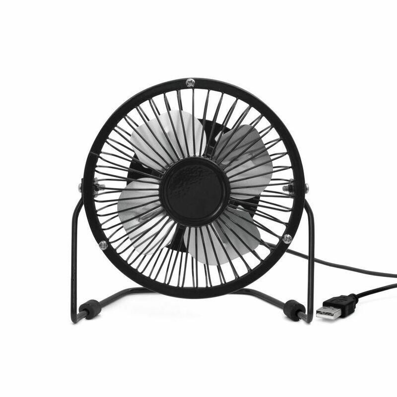 Ventilateur usb noir