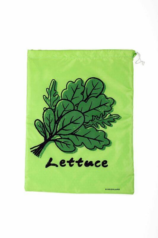 Le petit sac à salade pour les garder plus longtemps