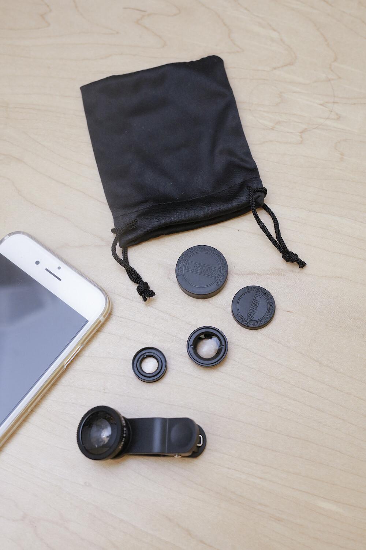 Kit de trois objectifs pour smartphone