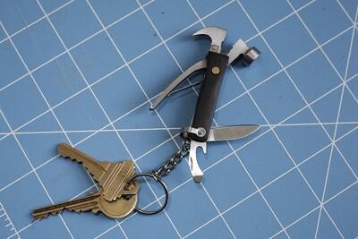 Porte-clé multi-outils de poche noir