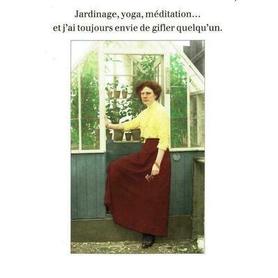 Carte postale - Jardinage, Yoga, Meditation