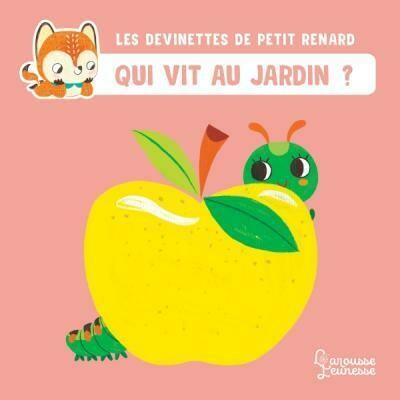 Livre enfant - Qui vit au jardin ? - Les devinettes de Petit Renard