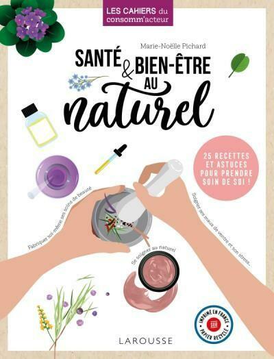 Livre guide - Santé & bien-être au naturel