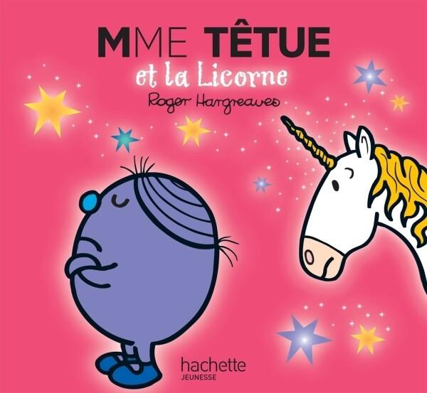 Livre enfant - Mme Tétue et la licorne