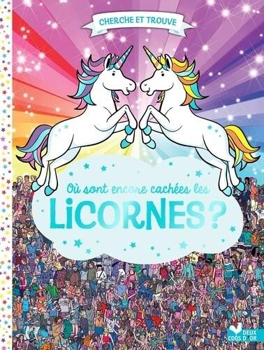 Livre cherche et trouve - Où sont encore cachées les licornes ?