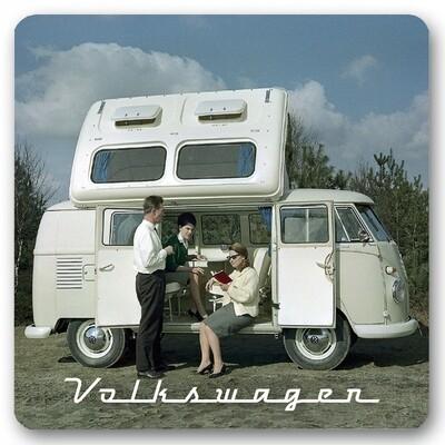 Sous-verre Bus VW camping car