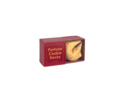 Chaussettes biscuit chinois - Fortune cookie