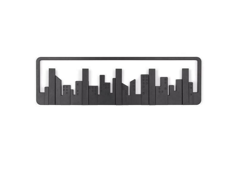 Multi-patères murale silhouette de ville ♥️