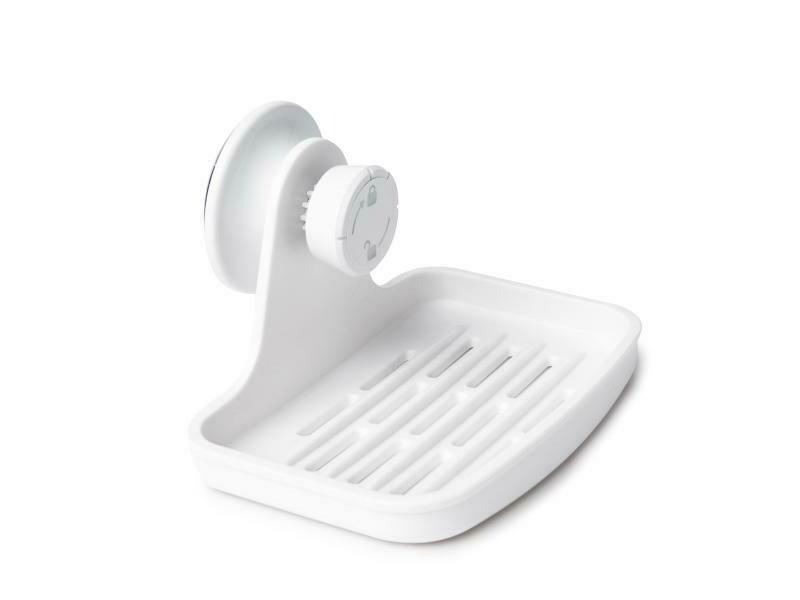 Support à savon à ventouse pour douche ou lavabo de salle-de-bain