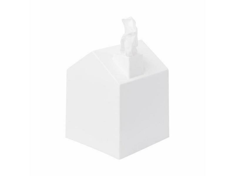Cache boîte à mouchoir carrée en forme de maison ♥️