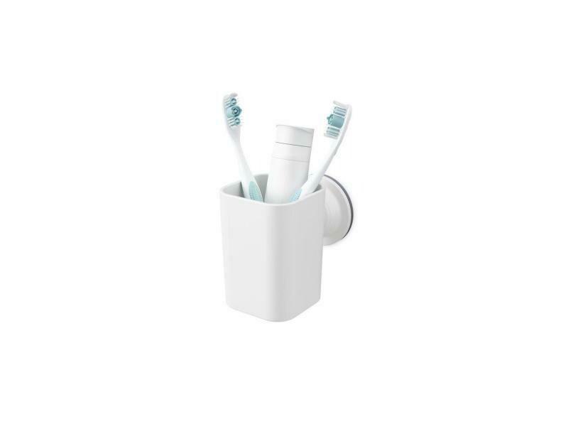 Gobelet à ventouse pour lavabo de salle-de-bain
