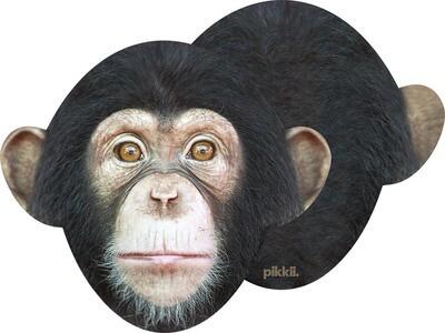 Lingette lunettes et écran microfibre singe