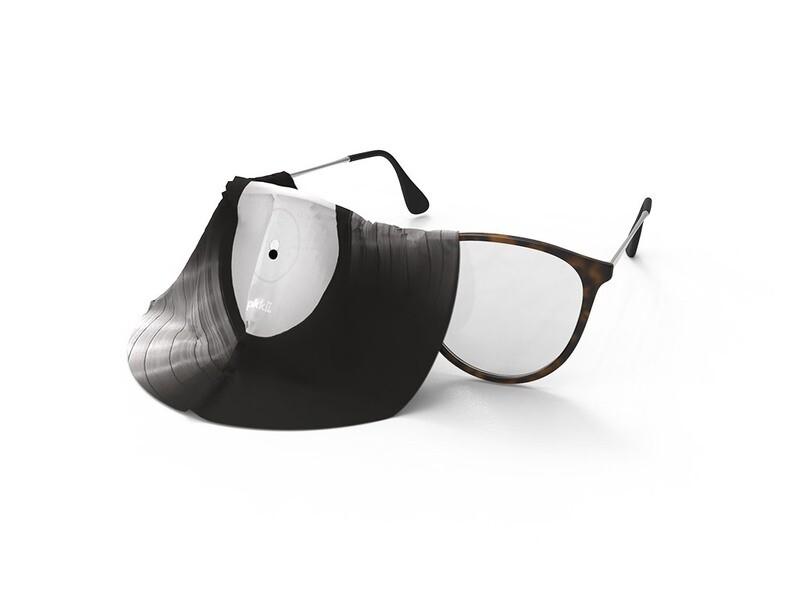 Lingette lunettes et écran microfibre vinyle