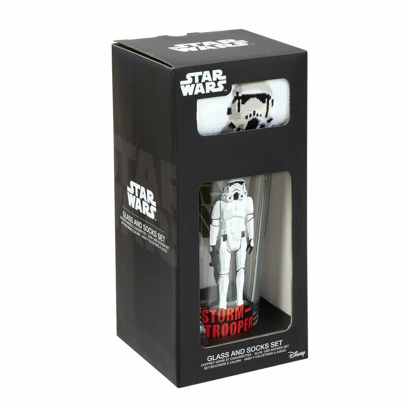 Kit chope à bière + chaussettes Stormtrooper Star Wars